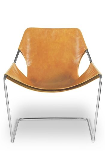Paulistano chair - Whisky leather cover: Paulistano Armchairs, Leather Covers, Paulistano Chairs, Steel Frames, Whisky Leather, Leather Chairs, Side Chairs, Stainless Steel, Design Furniture