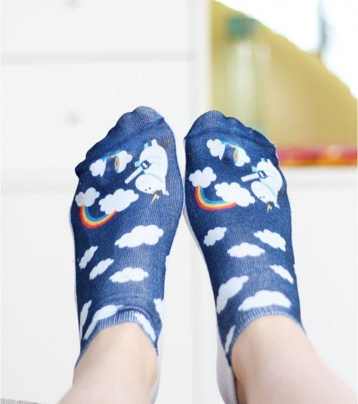 Socquettes licorne