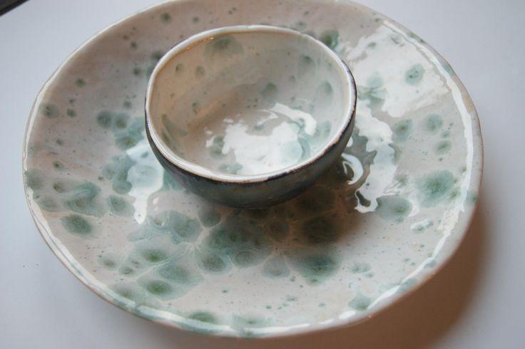 ceramics set, ceramics bowl, ceramics plate, serving set, handmade pottery, home decor by dsceramika on Etsy
