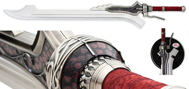 UC2596 - Devil May Cry Red Queen - Sword of Nero UNITED CUTLERY