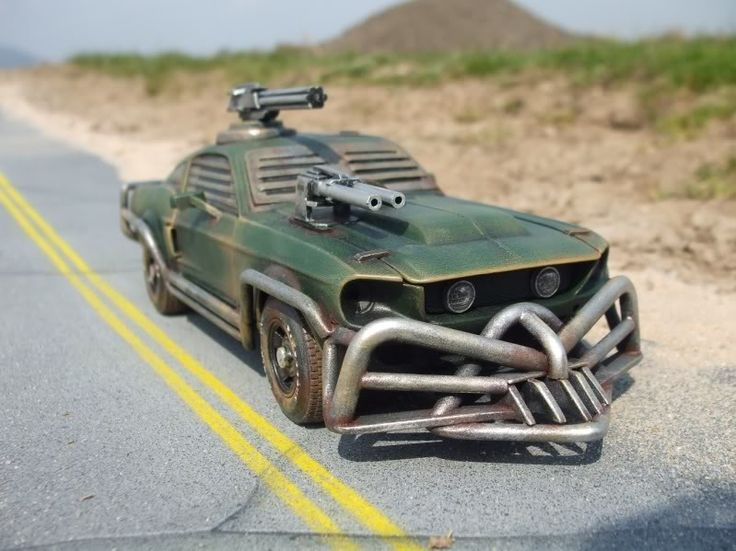 Post Apocalyptic '67 Mustang