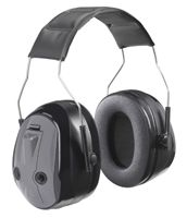 Peltor Push-to-Listen Ear Muffs. These let you simply tap a button to switch between hearing protection and open hearing. Workers love these ear muffs!