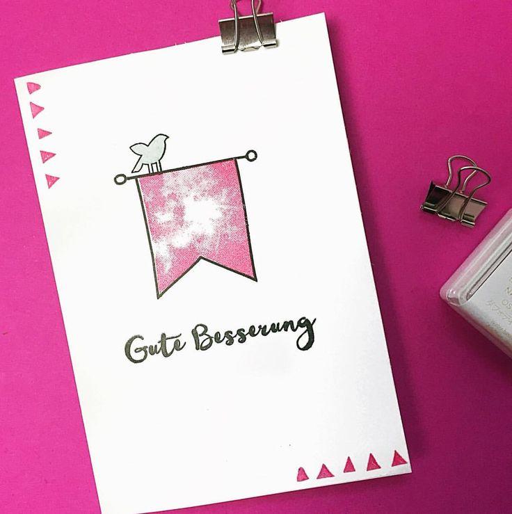 76 besten Cards & More - Gute Besserung Bilder auf Pinterest   Gute ...