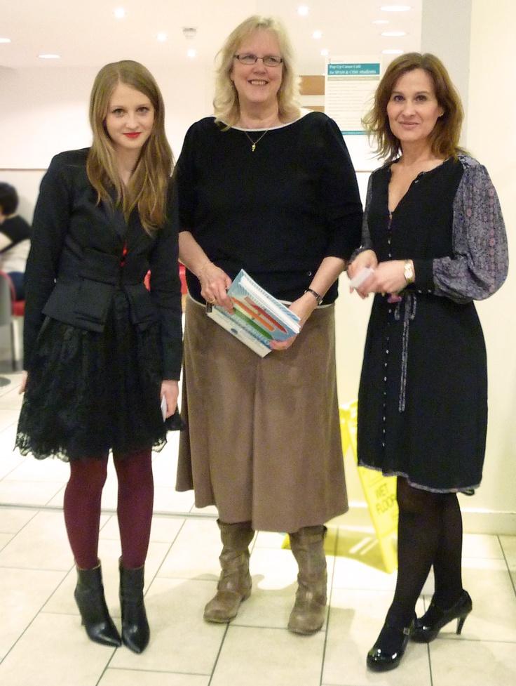 Irina with Barbara C. and Dr. Lisa Wade