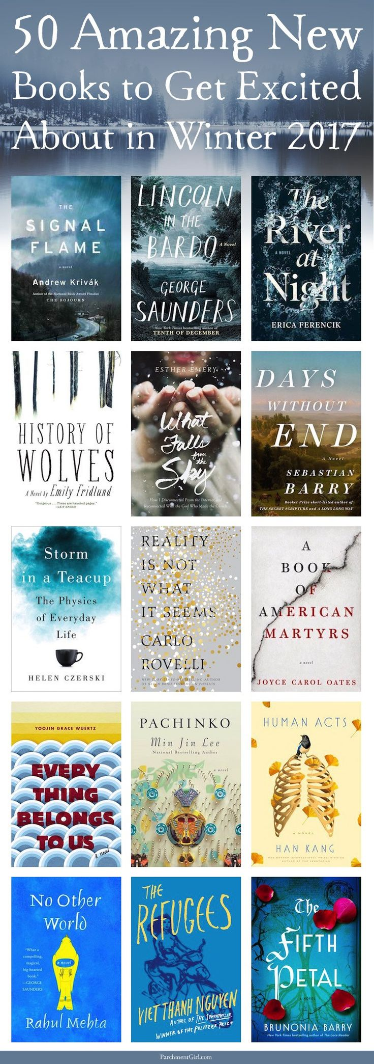 WINTER IS COMING... And so are these 50 amazing new books! Trust me, you won't have any trouble finding something to read this winter.