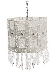 CUTOUT BEADED CHANDELIER