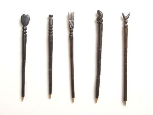 Ebony pens | Giftware | ASHANTI