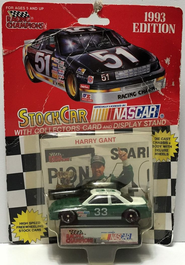 (TAS034901) - 1993 Racing Champions NASCAR Official Stock Car - Harry Gant