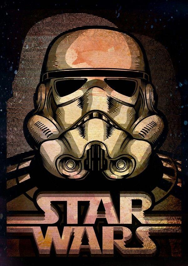 Storm Trooper illustration. Pinterest Storm troopers