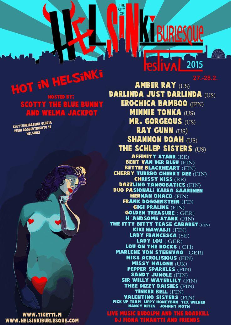 Helsinki Burlesque Festival 2015