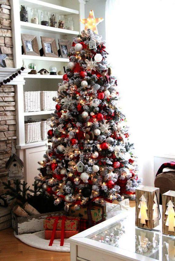 Black Christmas Tree B M Over Christmas Tree Storage At Lowes White Christmas Tree Decorations White Christmas Decor Christmas Tree Design