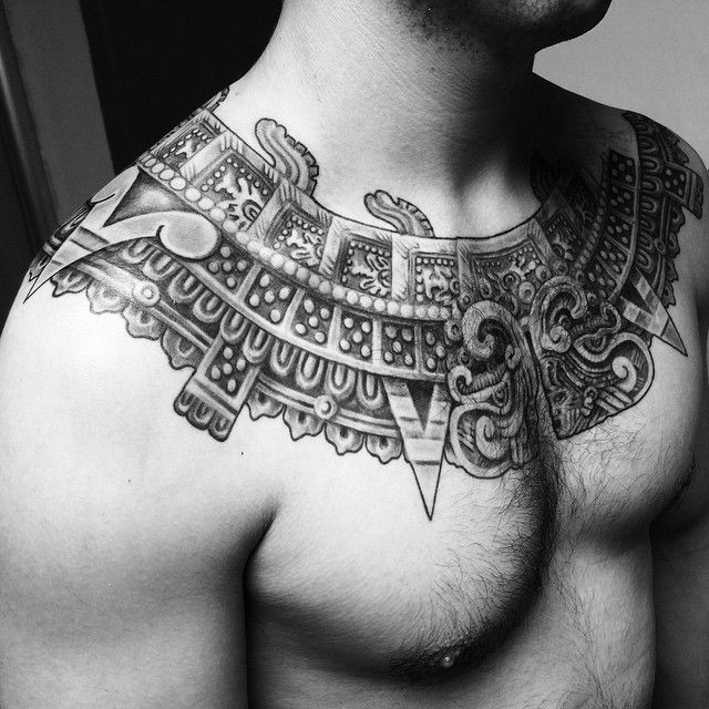 25 Tribal Unique Aztec Tattoo Designs - Ideas & Meanings