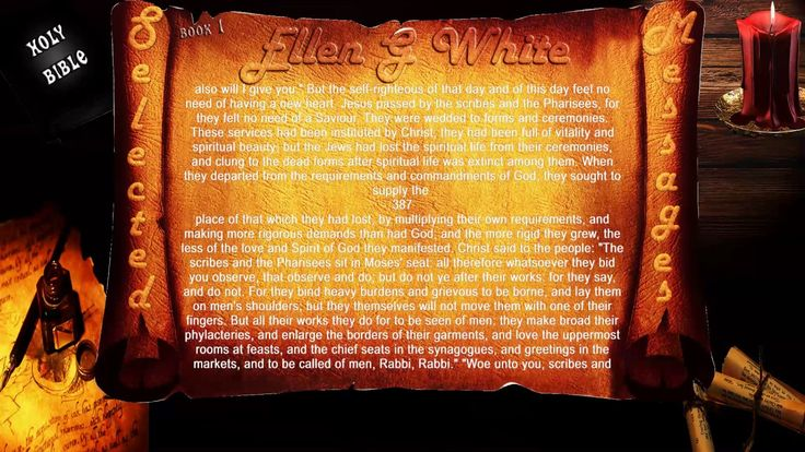 Ellen White, Christ the Center of the Message CH05-61-SM