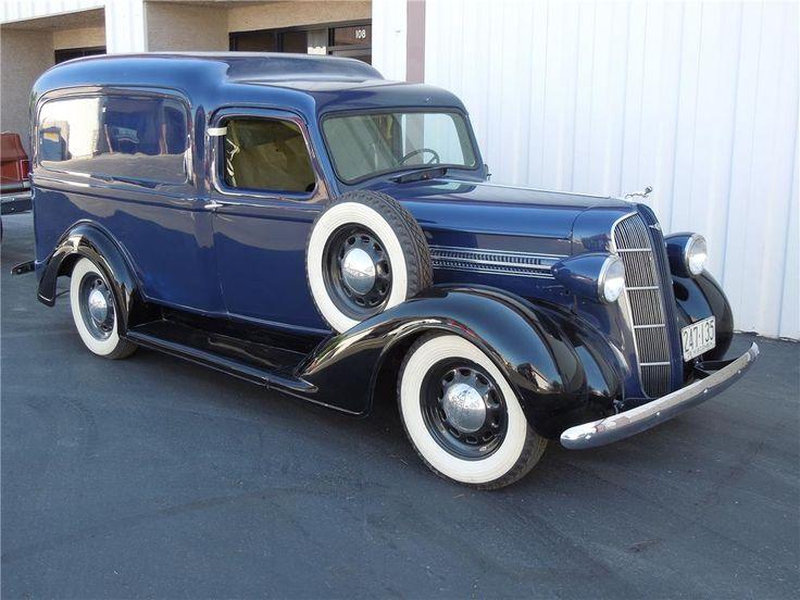 1936 dodge humpback panel truck vintage love. Black Bedroom Furniture Sets. Home Design Ideas