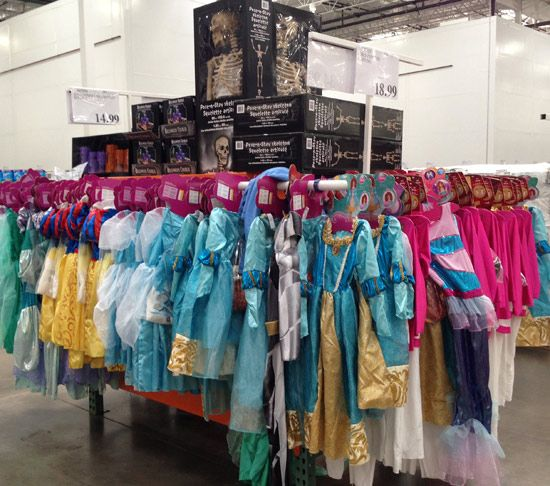 Costco – Halloween costumes, Christmas decorations and other fun things in stock