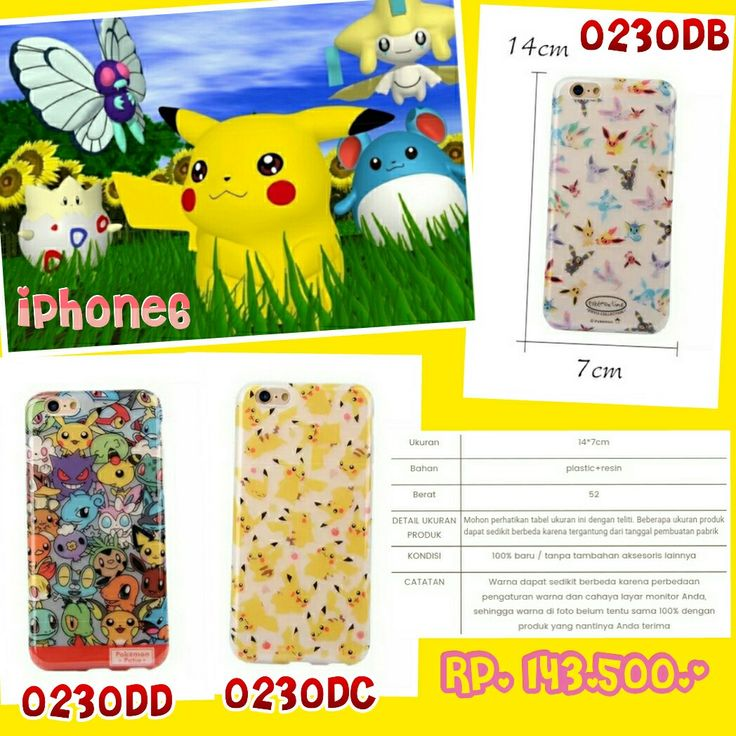 #aksesorismurah #casing #iphone6 #pokemonlovers #kenscollection #wa08176386938 #pinbbm521D10B9 kens-collection.com