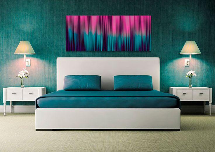 das schlafzimmer ber dem bett malen 2019 deko ideen. Black Bedroom Furniture Sets. Home Design Ideas