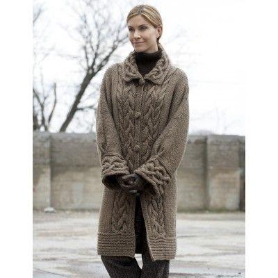 Cable Car Coat - Knitting Patterns - Patterns | Yarnspirations