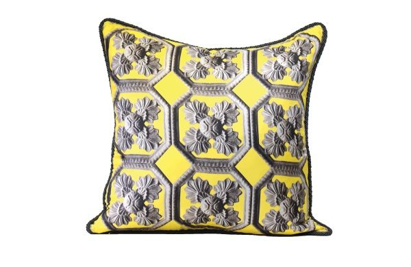 Alexandra D. Foster cushion cover is the perfect Christmas Gift it is made of pure silk and entirely hand-sewn by Italian master seamstresses in an atelier in Como, Italy.