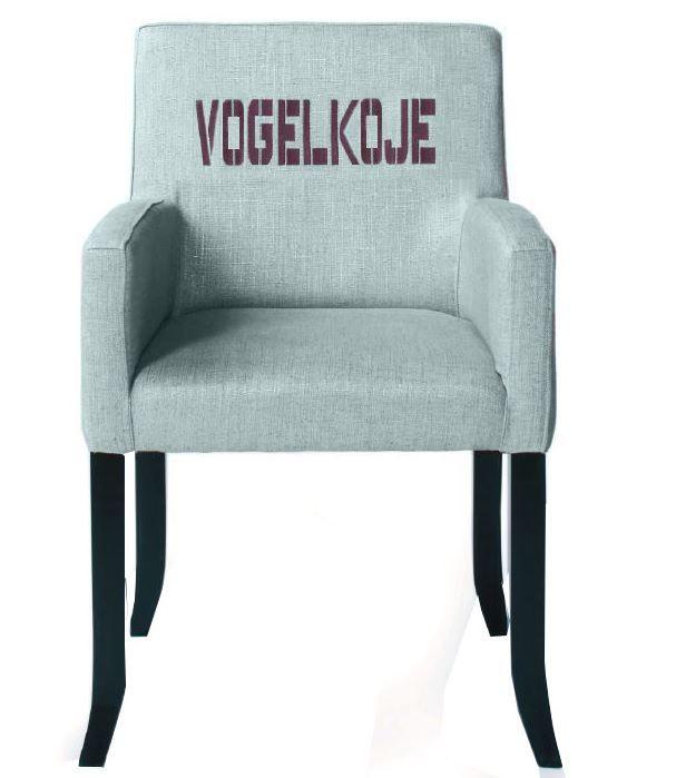"Stuhl New Yorker ""Vogelkoje"" designed by UK"