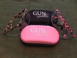 GunGoddess Safety Glasses (4-lens kit) - 2 colors
