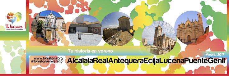 No te olvides! #agosto viene lleno de #experiencias. #AlcalálaRael #Antequera #Écija #Lucena #PuenteGenil #plandeverano #tuhistoriaenverano #intensamente