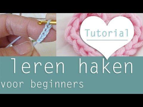 Leren haken de basis: lossen maken (chain stitch) voor absolute beginners