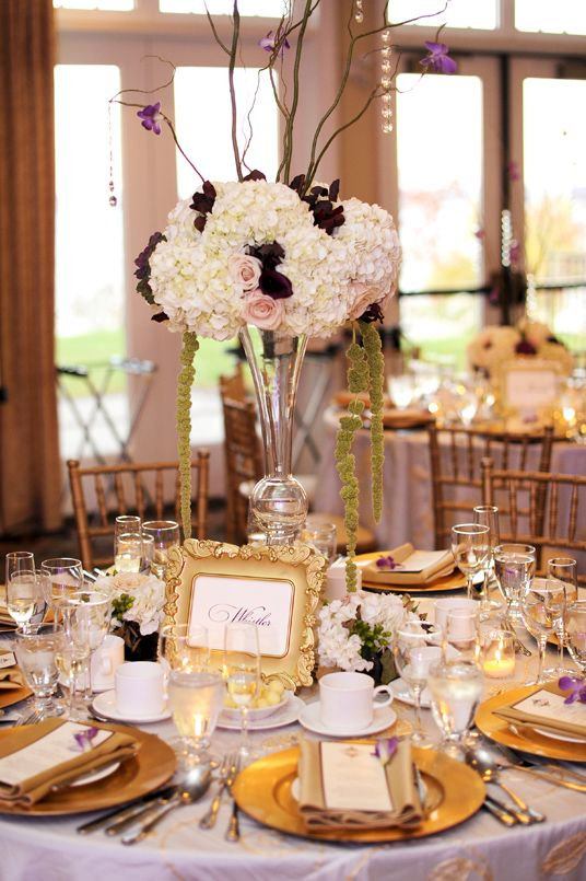 80 best WEDDING: Purple & Gold images on Pinterest | Lilac wedding ...