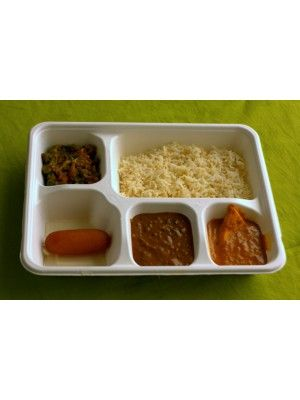 ECOW 5 COMPARTMENT TRAY