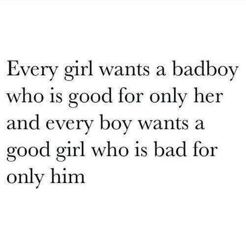 Bad Boy dating hyvä tyttö