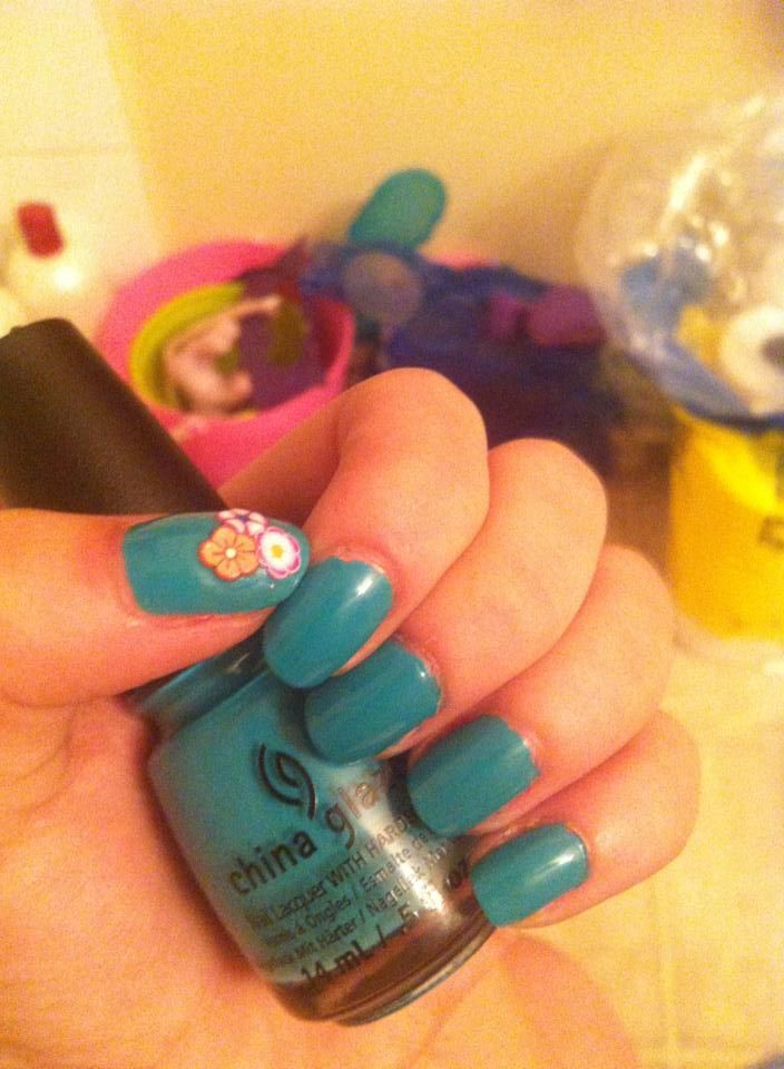 All nail art by me :D