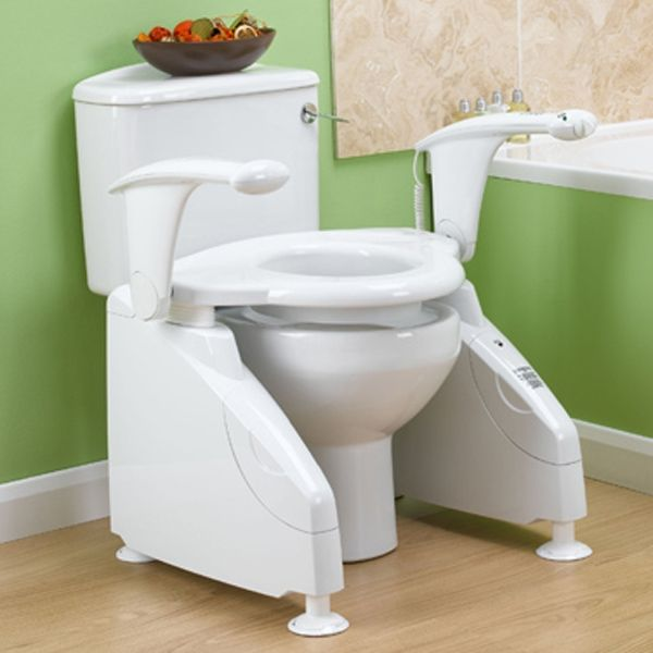 Toilet Lift #DisabilityLiving >> Get great ideas at http://www.disabledbathrooms.org/handicap-bathroom-accessories.html