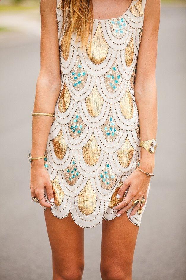 vestido corto, elegante