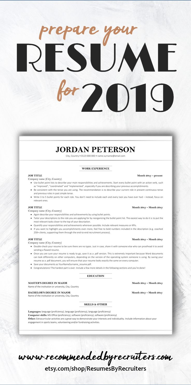 Looking for a perfect resume template that will land you a