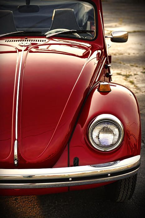 1973 Volkswagen Beetle Convertible - by Gordon Dean II