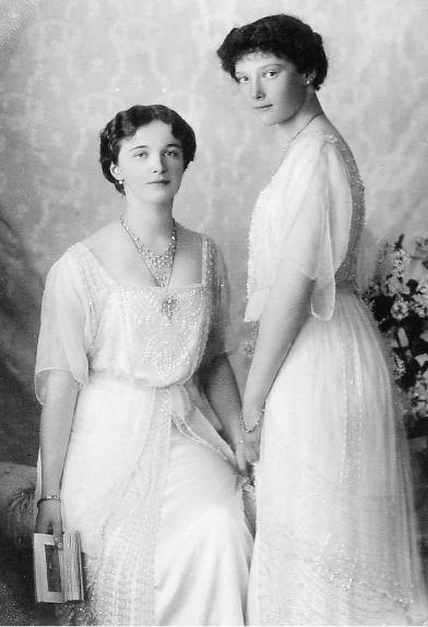 Grand Duchesses Olga and Tatiana.
