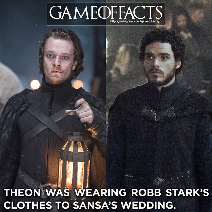"""Game Of Thrones Facts  su Instagram: """"Cr: @templar_fitness (this fact was sent by various people but was first sent by them)"""""""