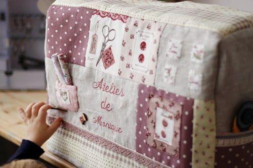 Atelier de Monique: Funda para maquina de coser