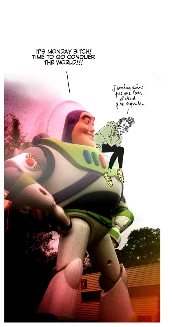 Illustration, Time to go conquer the world with Buzz l'éclair, par Margaux motin