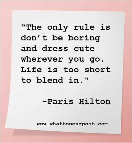 by Paris Hilton,... not so classy person but a cute quote nonetheless.