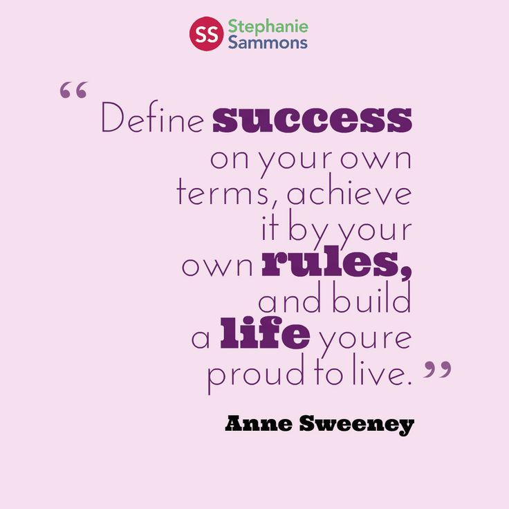 Best 25 define success ideas on pinterest healthy motivation define on your own terms achieve it by your own rules and build a life youre proud to live solutioingenieria Gallery