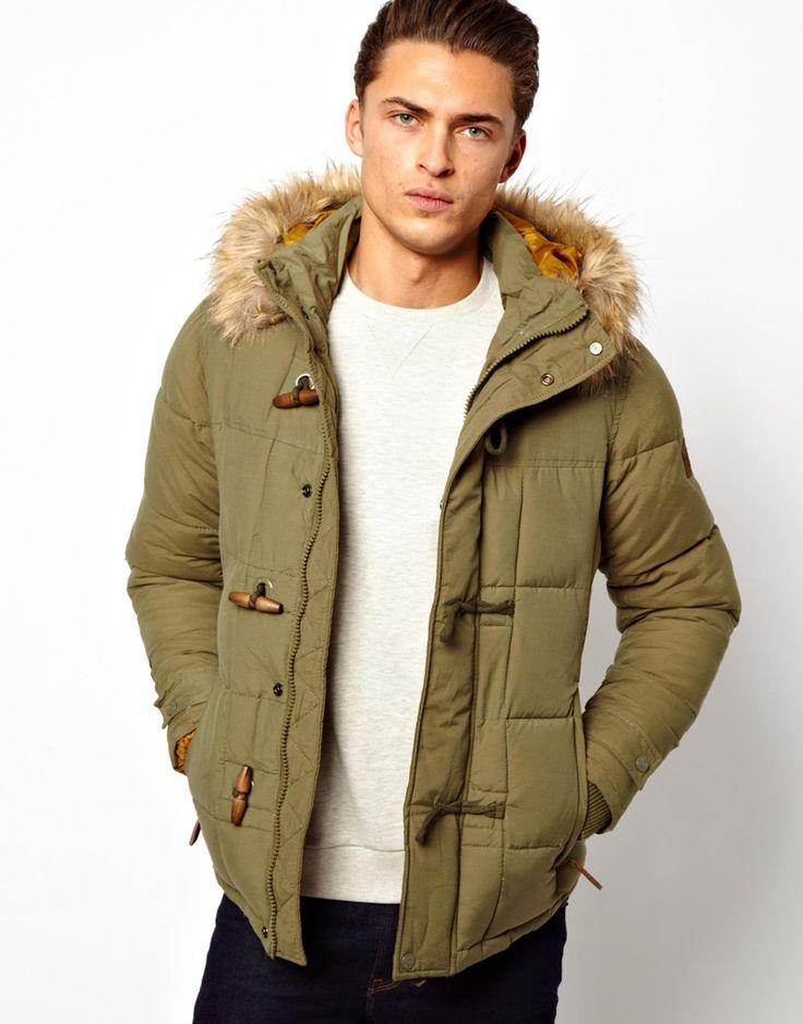 Parka Coat Men