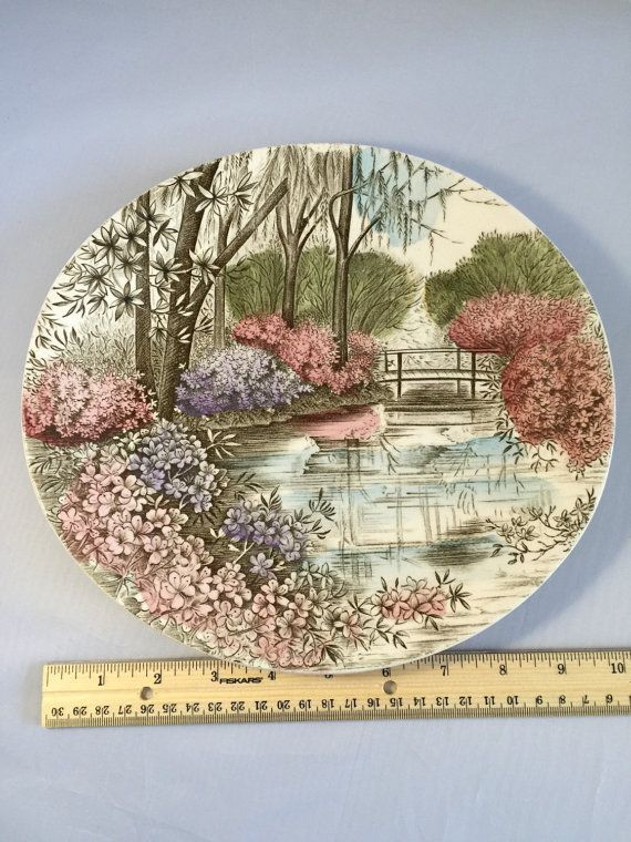 This beautiful vintage plate was made by Johnson Brothers. At 10 3/8 x  sc 1 st  Pinterest & 35 best Crockery Loves images on Pinterest   Johnson brothers china ...