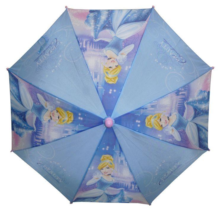 Parapluie Princesse Cendrillon  Ouverture Manuelle  Diamètre 38 cm