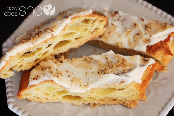 Easy Austrian Pastry... hmmm- might have to try this- the step by step photos and instructions look doable.