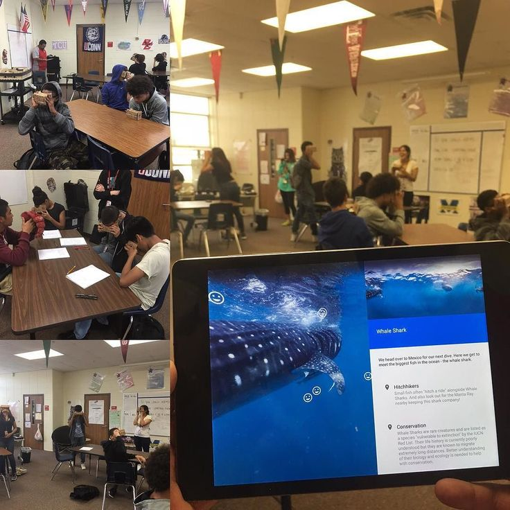 Love watching these kids enjoy learning. We got to take kids places that they might never get to go! #statueofliberty #greatbarrierreef #tundra #greatwall #gpisd #googleexpeditions #googlecardboard by cgarrett51 http://ift.tt/1UokkV2