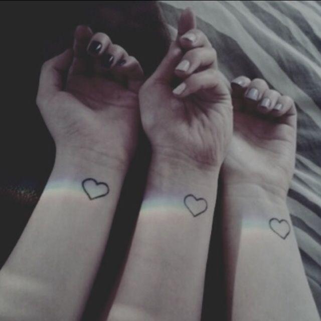 Best 3 Best Friend Tattoos Pictures - Styles & Ideas 2018 - sperr.us