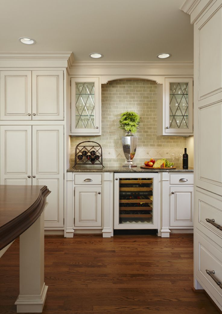 Birmingham Kitchen Addition By Mainstreet Design Build Features Large Furniture Style Island