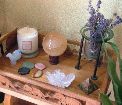 Altars:  Meditation #Altar.