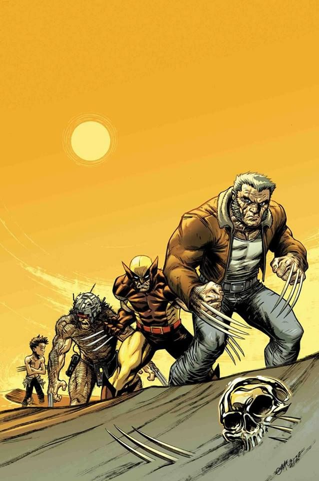 Old Man Logan by Ed McGuinness